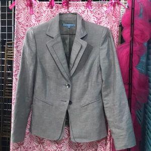 Antonio Melani light gray blazer